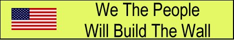 We The People Will Build The Wall Banner